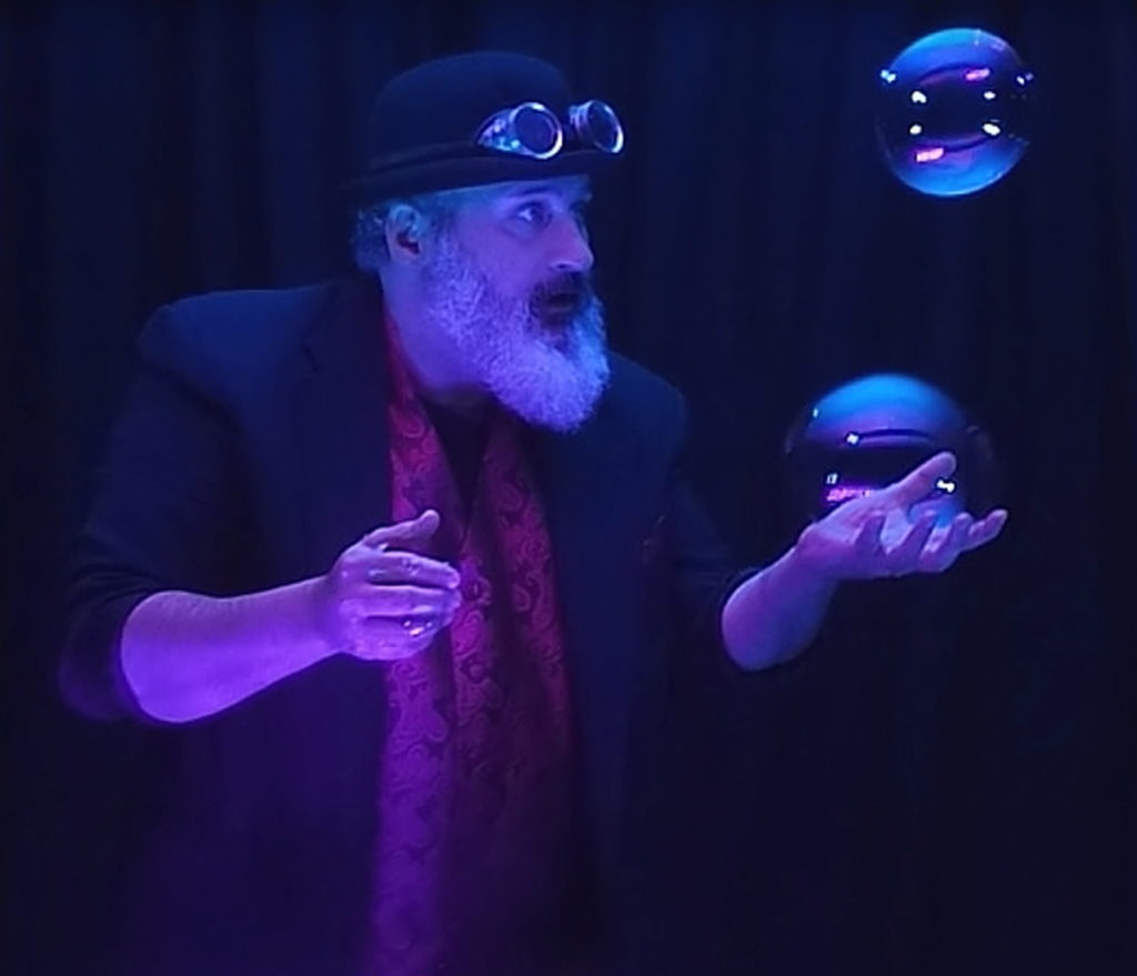 Professor Suds and his Miracle Bubbles